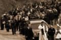 Aragona, sfreccia a 100 km all'ora: multato un carro funebre