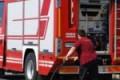 Favara, bombola del gas in fiamme gettata in strada: intervengono i Vigili del Fuoco