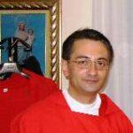 Don Giuseppe Livatino, appena nominato arciprete di Raffadali