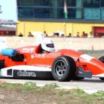 Salvo Tranchida (Dallara F393 Fiat) w Slalom
