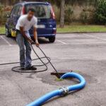 Canicattì, i lavori di pulizia delle caditoie del centro abitato