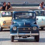 22 Ronde delle Zolfare:  passaggio delle auto storiche anche nel centro di Naro