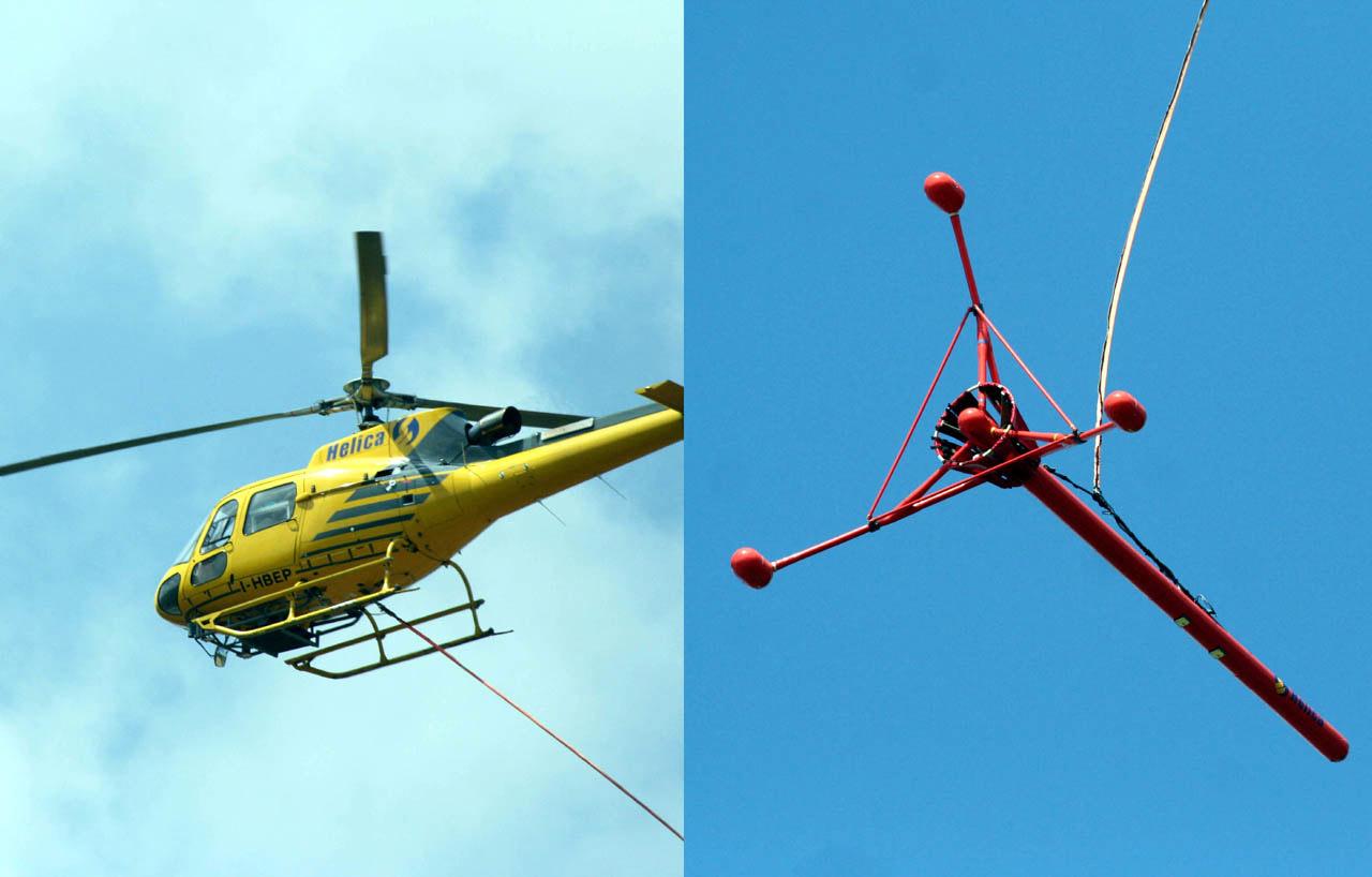 Elicottero Nero E Giallo : Campobello di licata che fa quell elicottero giallo con