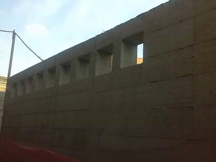 Canicatt muro di san domenico il gruppo di for Gruppo bullone muro