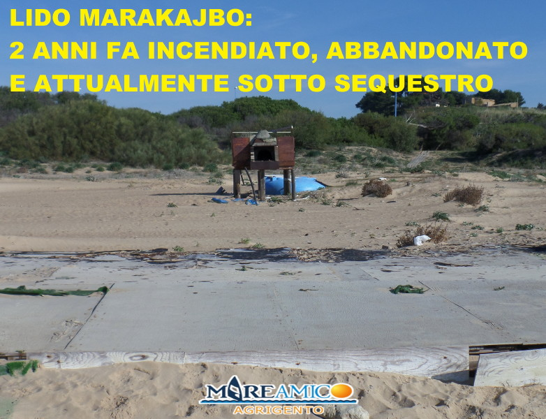 f96f98b431 2 lido marakajbo Lungo la spiaggia della località turistica di San Leone ad  Agrigento ...