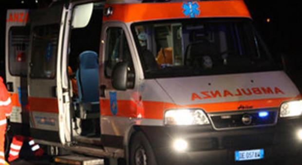 Pedone investito da una moto Gravissimo, è ricoverato in ospedale