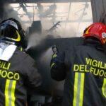 Licata, corto circuito al forno: abitazione in fiamme