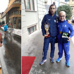 Il canicattinese Carmelo Lo Monaco vince il campionato  italiano  di maratonina  riservato agli operatori socio  sanitari e medici