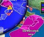 Tornano i temporali in Sicilia per l'1 e il 2 novembre