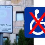 Canicattì: presso il poliambulatorio non esistonoposti auto per i diversamente abili…. provvedete?