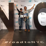 Aurora Calabrò e Raimondo Curto alla Maratona di New York… orgoglio canicattinese