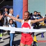 L'atleta dell'ASD Atletica Canicatti Buomalik Abdelkrim ha vinto il Trofeo Città di Barrafranca