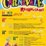 Carnevale Ravanusano 2019: i Carri e il programma