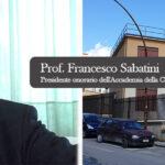 Canicattì: il Prof. Francesco Sabatini,  Presidente onorario dell'Accademia della Crusca, intervistato da Cesare Sciabarrà