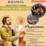 Ravanusa: Tutto pronto per i festeggiamenti di San Giuseppe lavoratore