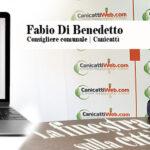 """""""Finestra sulla città"""" il consigliere Fabio Di Benedetto: per loro la colpa è sempre degli altri…. non le manda a dire il decano dei consiglieri comunali"""