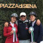 Ottimi piazzamenti per due Amazzoni di Canicattì all'87esima edizione del concorso ippico Piazza di Siena che si è svolto a Roma.