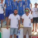 Grande prova dell'Ulysse ai Campionati Regionali Ragazzi:  staffetta 4 x 200 stile libero è Campione Regionale
