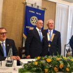Cerimonia del Passaggio della Campana del Rotary Club di Licata