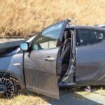 Drammatico incidente sulla statale 189 a Campofranco, un'intera famiglia agrigentina miracolata