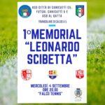 """Canicattì,  prima edizione del memorial """"Leonardo Scibetta"""", triangolare di calcio a 5"""