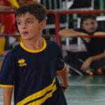 Il piccolo Emanuele Lo Giudice insieme ai campioni della nostra Nazionale di Calcio