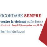 """Canicattì: """"RICORDARE OGGI PER RICORDARE SEMPRE"""", per la giornata mondiale contro la violenza sulle donne . 25 nov presso sede Euroform"""
