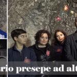 """Canicattì: bellissimo presepe a Borgalino  realizzato dai ragazzi dell'Ass. """"Li Tri Re"""" ( video)"""