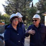 Naro: il Sindaco sui lavori in riva al Lago San Giovanni