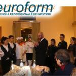 I ragazzi dell'Euroform titolari di un ristorante per un giorno… la pratica che va oltre la teoria ( video intervista)