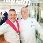 Lo Chef Leonardo Massaro incontra il re del Cioccolato Knam