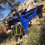 Tragedia sfiorata a Collesano, elicottero si schianta contro parete rocciosa