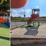 Canicattì: ecco a voi i parchi della vergogna ( e dei pericoli) !!!! ( due video)