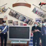 Camastra, i Carabinieri ritrovano televisore rubato  un pensionato