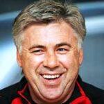 Carlo Ancelotti, ormai ex allenatore del Milan